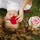 Joanna Kurylonska - 'A Cup of Rose' - Limerick Camera ClubBronze Medal - Projected - Intermediate
