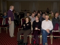 Audience members awaiting presentation by Ray Spence FRPS
