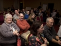 Creative Competiton judges Brid Coakley AIPF ARPS and Ray Spence FRPS (front row) and members of the audience