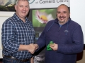 SACC Chairman Richie Dwyer presenting Paul Reidy (Blarney) with his Bronze medal