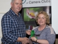 SACC Chairman Richie Dwyer presenting Viv Buckley (Malow) with her medal