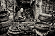 Best Monochrome Print SACC Interclub Competition 2014Seamus Costelloe - 'Morocco 1' - Kilkenny Photographic Society