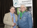 SACC Chairman Bill Power presenting Ron Bending from Deise Camera Club with award for Best Overall Image