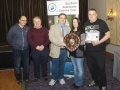 SACC Chairman Bill Power presenting Jason Town & Niamh Whitty and members from Cork Camera Group with trophy & certificate for winning overall