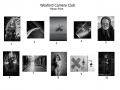 2nd Place Monochrome Print Panel - Wexford Camera Club