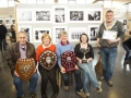 Martin Duggan, Ann Francis, Vincent Kelly, Niamh Whitty & Jason Town from Cork Camera Group pictured with their winning monochrome print panel and a bunch of trophies!.jpg