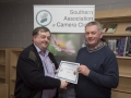 SACC Chairman Richie Dwyer pictured with Bill Power from Mallow Camera Club - 3rd colour print club.jpg