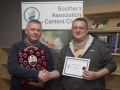 SACC Chairman Richie Dwyer pictured with Jason Town from Cork Camera Group - 1st mono print club.jpg