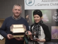 SACC Chairman Richie Dwyer pictured with Natalja Murphy picking up best monochrome print award and best overall image on behalf of clubmate Barry Walsh.jpg