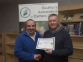 SACC Chairman Richie Dwyer pictured with Paul Reidy from Blarney Photography Club - 3rd overall club.jpg