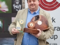 Bill Power, overall winner, pictured with his awards