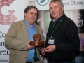 SACC Chairman Richard Dwyer pictured presenting award for best individual colour print to Bill Power from Cork Camera Group