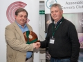 SACC Chairman Richard Dwyer pictured presenting award for best individual projected image to Bill Power from Cork Camera Group