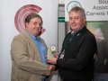 SACC Chairman Richard Dwyer pictured presenting award for overall best individual image to Bill Power from Cork Camera Group