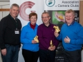 SACC Chairman Richard Dwyer pictured with judges Helen Hanafin, Paul Stanley and Bob Morrison