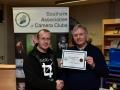 Presentation of Certificate to Blarney Photography Club member Cian O'Mahony
