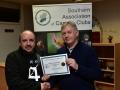 Presentation of Certificate to Blarney Photography Club chairman Paul Reidy
