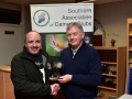 Paul Reidy receiving his best overall image award from Richard Dwyer