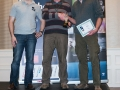 SACC Secretary David Barrie and Michael Maher from Mahers Photographic presenting overall award to Charlie Lee