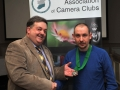 SACC Chairman Bill Power pictured presenting award to Patrick Lyons