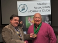 SACC Chairman Bill Power pictured presenting awards to Jack Savage