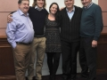 The outgoing SACC committee looking very happy - maybe because their term is over! From left to right: Bill Power, John Hogan, Niamh Whitty, John Doheny and Neily Curtin