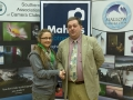 SACC Chairman Bill Power with Suzanne Merrigan