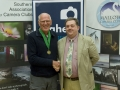 SACC Chairman Bill Power with Padraig Molloy