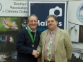 SACC Chairman Bill Power with John Hooton