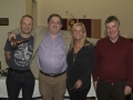 Carl Cutland-Overall SACC PotY winner Bill Power-Judy Boyle-Tony McDonald