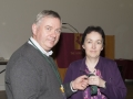 SACC Chairman Richie Dwyer presenting Breda O Mullane with her medal
