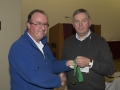 SACC Chairman Richie Dwyer presenting Ger O Halloran with his medal
