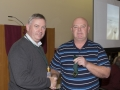 SACC Chairman Richie Dwyer presenting Pat O Donoghue with his medal