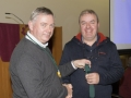 SACC Chairman Richie Dwyer presenting paul flynn with his medal