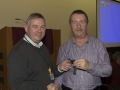 SACC Chairman Richie Dwyer presenting presenting Andy Megan wth his medal
