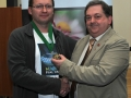 SACC Chairman Bill Power pictured presenting award to Mark Gorman