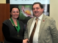 SACC Chairman Bill Power pictured presenting award to Niamh Whitty