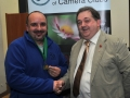 SACC Chairman Bill Power pictured presenting award to Paul Reidy