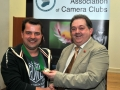 SACC Chairman Bill Power pictured presenting award to Vladimir Morozov