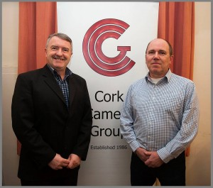 Cork Camera Group Chairman Noel O'Connell pictured with Robert Thompson