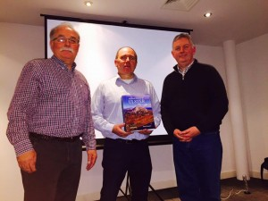 Kilkenny Photographic Society Chairman Eugene Canning pictured with Robert and SACC Chairman Richard Dwyer