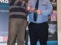 SACC Secretary David Barrie presenting award to Jim McSweeney