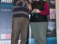 SACC Secretary David Barrie presenting award to Maire Sweeney