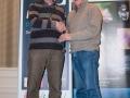SACC Secretary David Barrie presenting award to Padriag Molloy