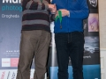 SACC Secretary David Barrie presenting award to Seamus Mulcahy