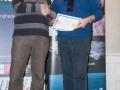 SACC Secretary David Barrie presenting award to Tadhg Hurley
