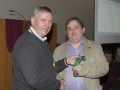 SACC Chairman Richie Dwyer presenting Bill Power with his medal
