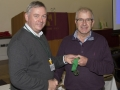 SACC Chairman Richie Dwyer presenting Ned Mahon with his medal